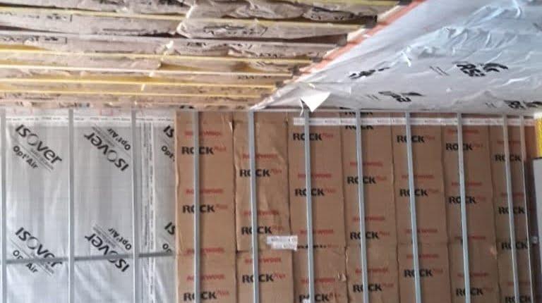 Pose des membranes pour Maison à Ossature bois