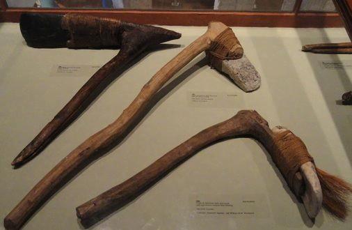 Vieux outils des iles marshal_Musée,_Harvard_University