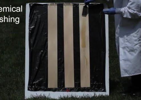 Une nouvelle manière de faire du bois transparent