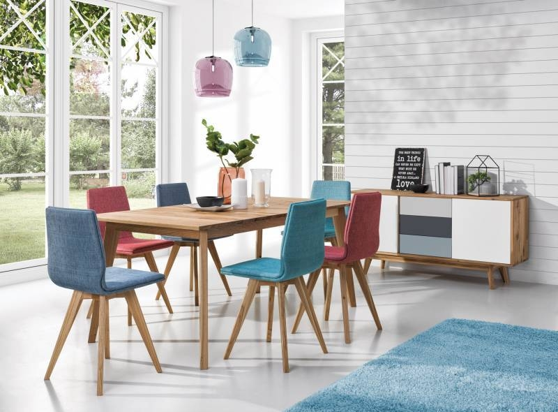 Table bois massif extensible