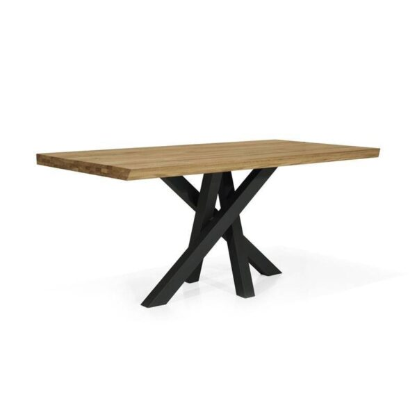Table design chêne extensible