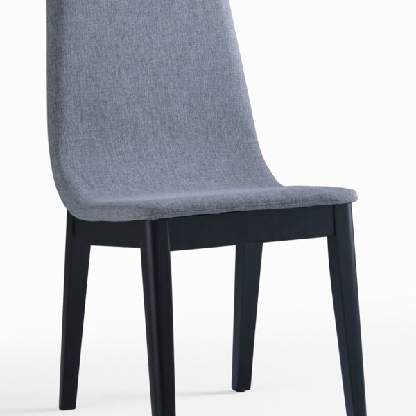 Chaises modernes bois (Lot de 2)