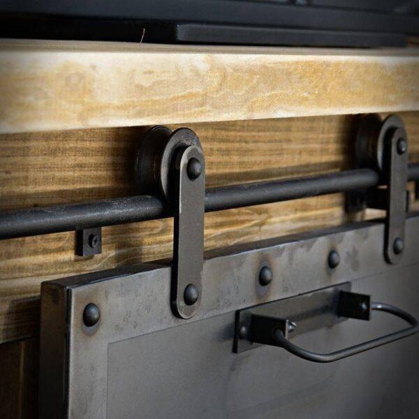 Meuble TV style industriel bois