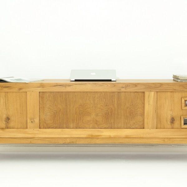 meuble TV vintage bois