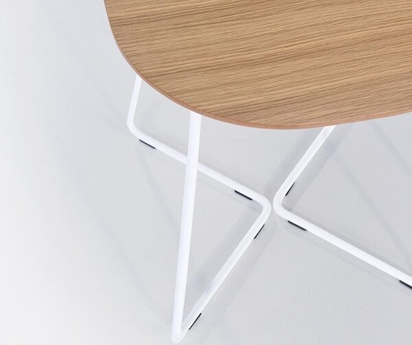 Petite table basse bois metal