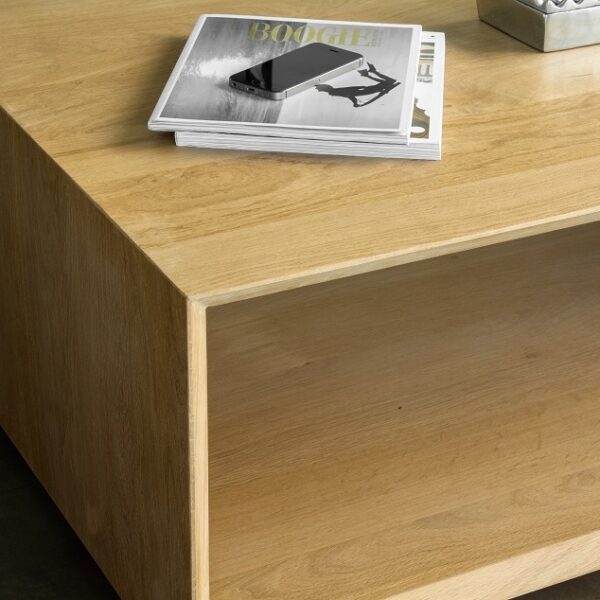 Table basse bois salon