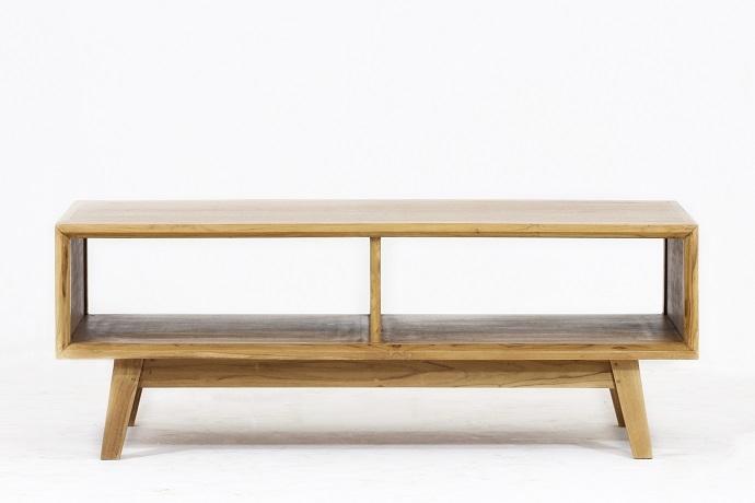 Table basse bois Vintage 110