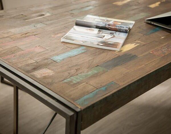 Table bois recyclé XL