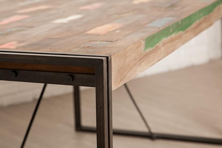Table bois recyclé
