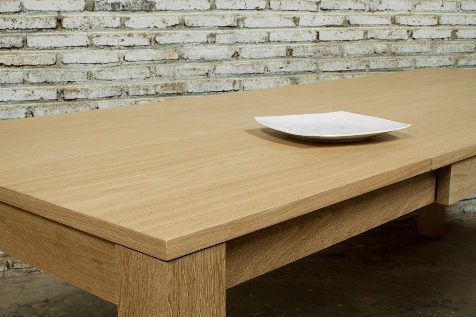 Table extensible bois XL