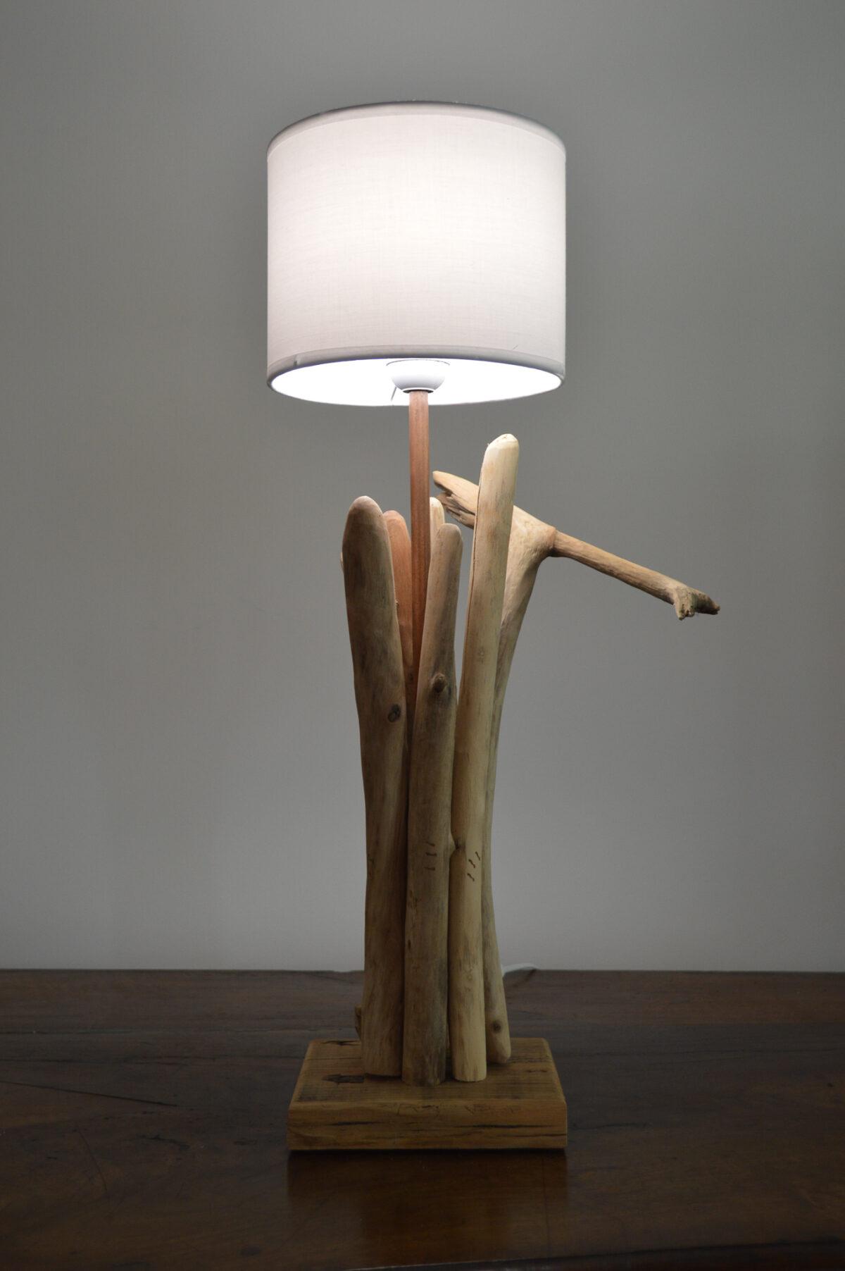 DRIFTWOOD - Lampe Bois flotté 60 cm
