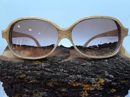 lunettes de soleil bois érable et chêne