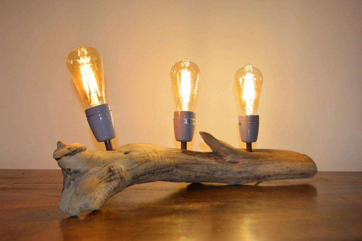 STELLA - Lampe à poser bois