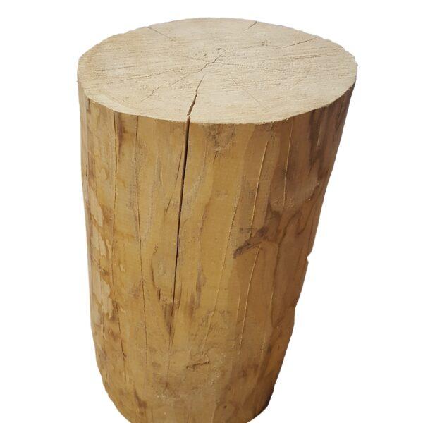 rondin de bois massif
