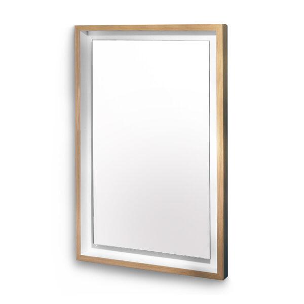 Miroir rectangulaire bois