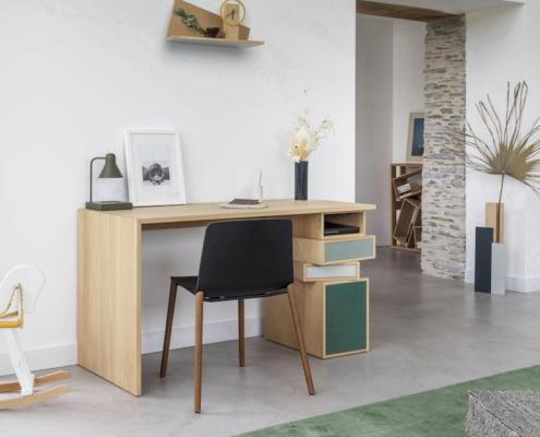 Les plus beaux bureaux et consoles en bois pour un télétravail design